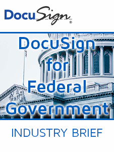 Resource: DocuSign for Federal Government Industry Brief