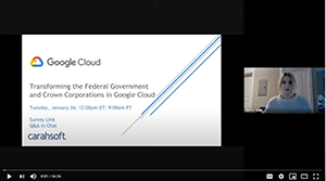 Google Canada webinar