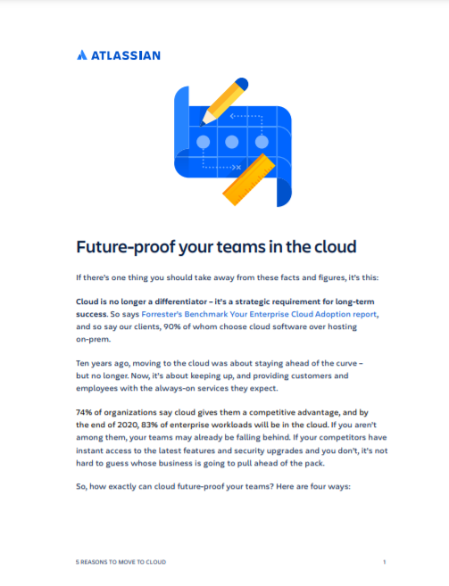Atlassian Future Proof eBook