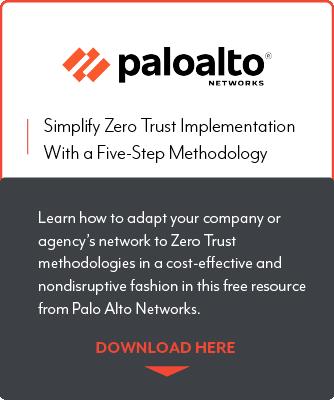 Palo Alto Networks Zero Trust whitepaper callout