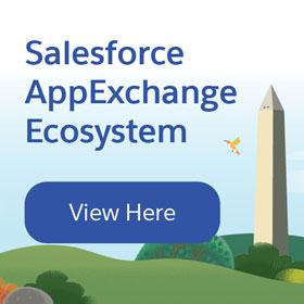 Salesforce AppExchange Ecosystem graphic