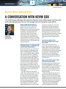 GCN Article: A Conversation with Kevin Cox