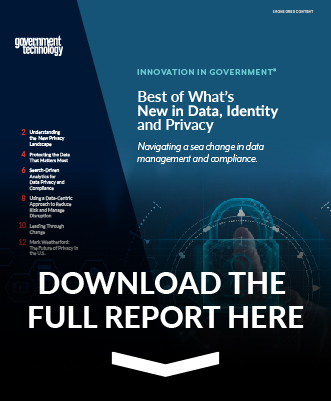 GovTech Data, Identity and Privacy report preview