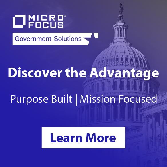 Micro Focus ad banner