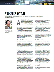 GCN Article: Win Cyber Battles