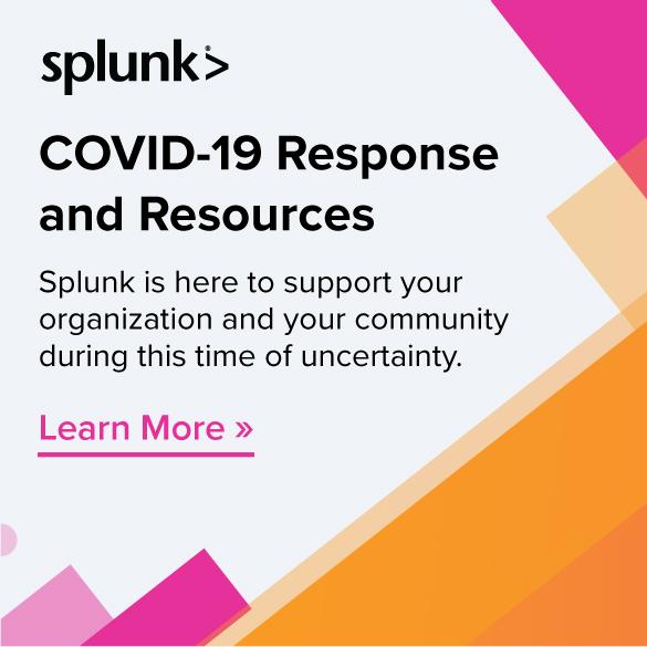 Splunk COVID-19 response resources