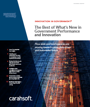 GovTech Government Performance and Innovation report cover