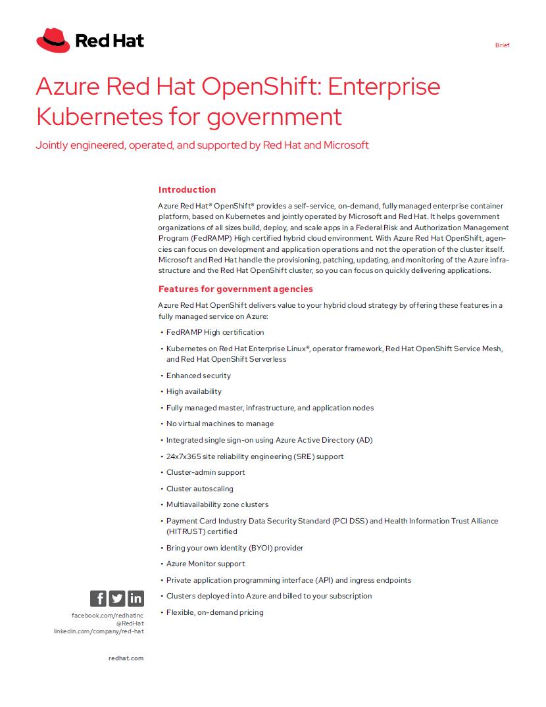 Enterprise Kubernetes for Government