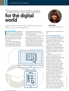 GCN Article: Training Employees for the Digital World