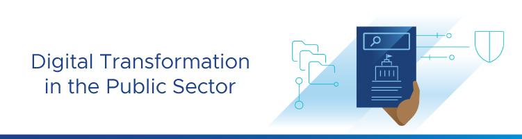 Digital transformation in the public sector