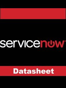 Resource: ServiceNow Incident Management Datasheet