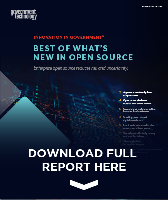 GovTech Open Source Report cover preview