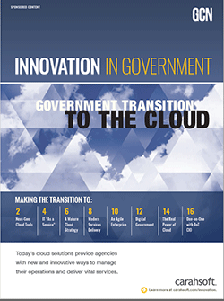 Innovation in Government: Government Transitions to the Cloud