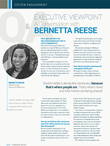 GCN Article: A Conversation with Bernetta Reese
