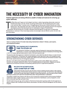 Necessity of Cyber Innovation Article