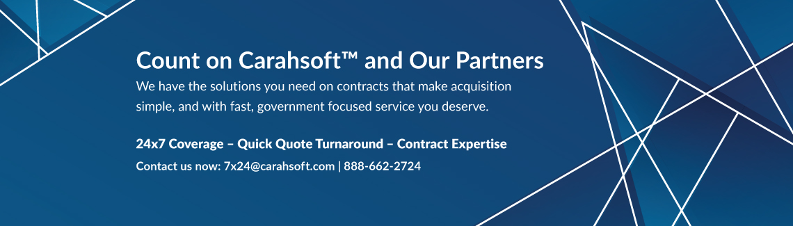Count on Carahsoft banner ad