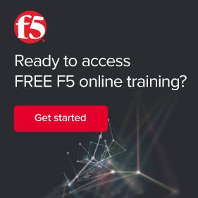 F5 Training sidebar