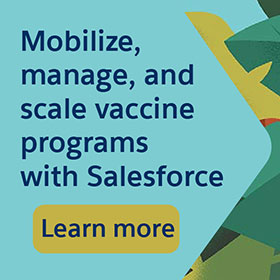 Salesforce vaccine programs banner