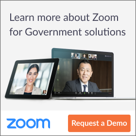 Zoom for government demo ad