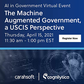 Register for AI in Government Virtual Event
