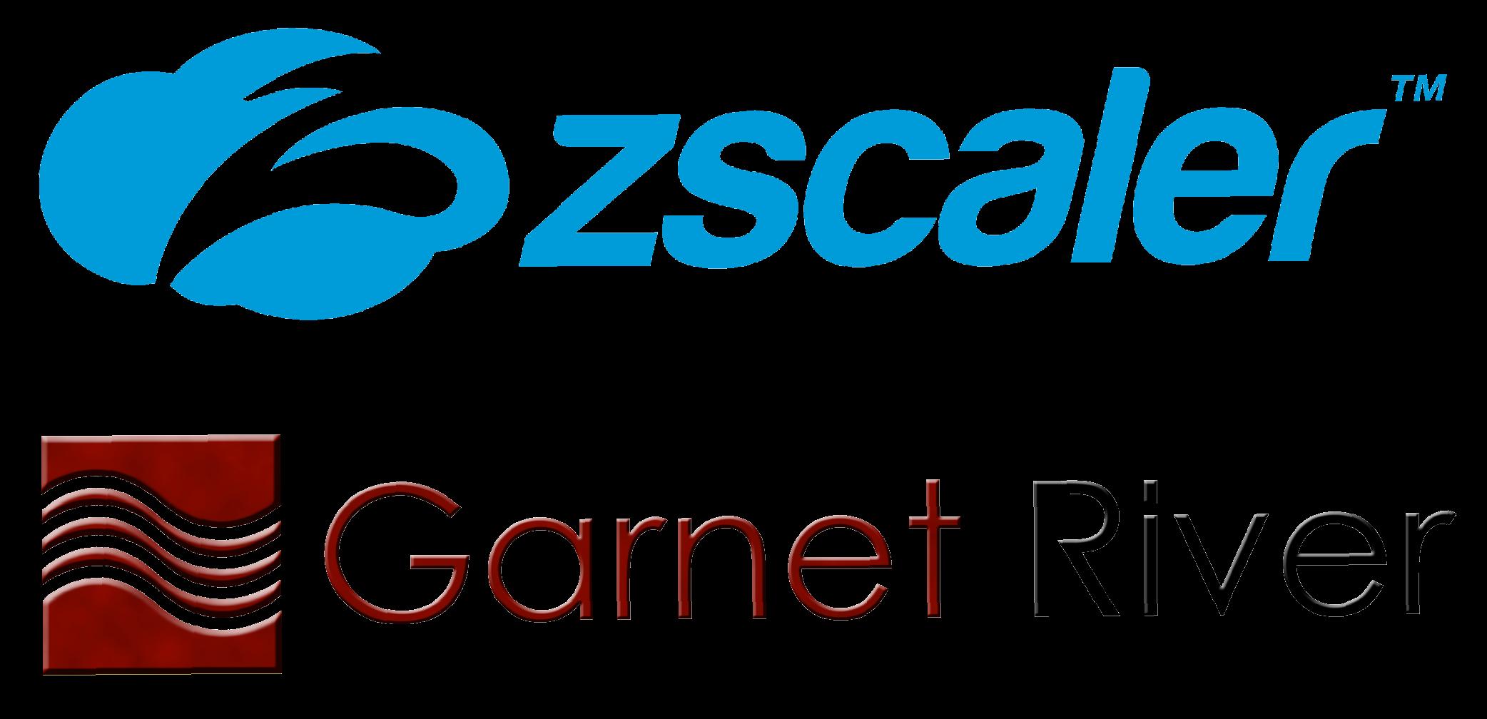 Zscaler and Garnet River logos