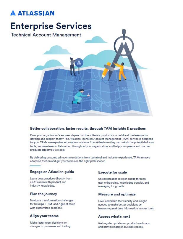 Atlassian technical account solutions brief