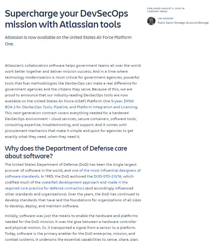 Atlassian tools blog