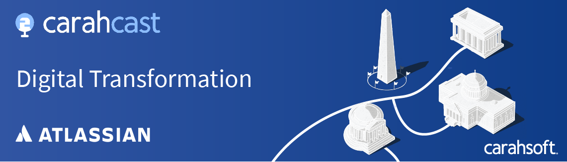 Digital Transformation with Atlassian Podcast banner