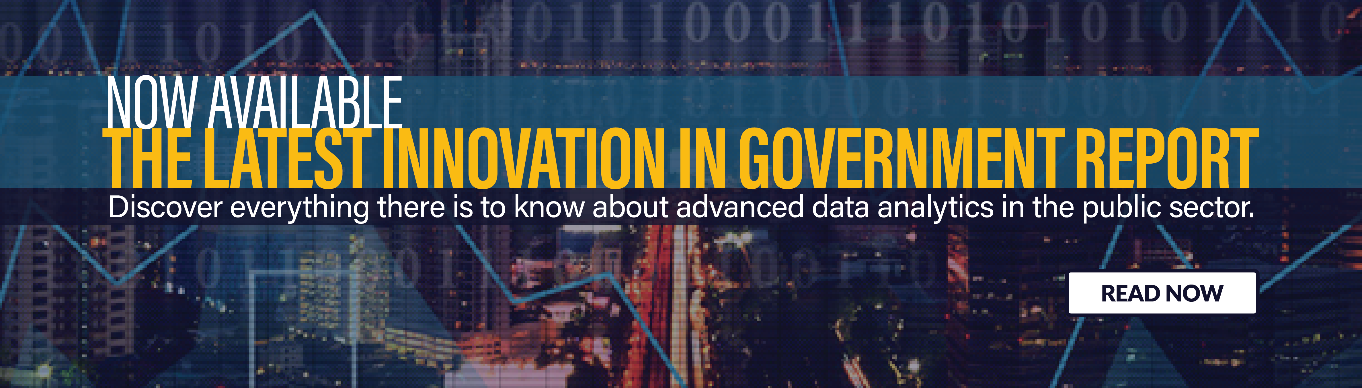 Innovation in Government Data Analytics
