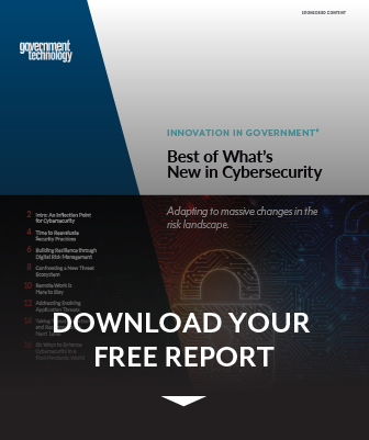 GovTech Cybersecurity Report preview