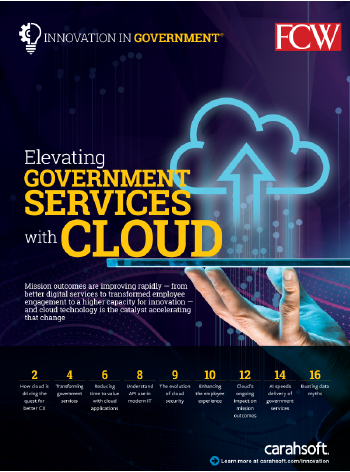 FCW IIG Elevating Government Services with Cloud Report cover