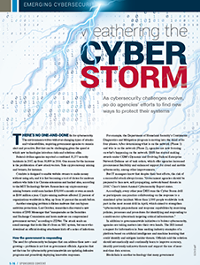 GCN Article: Weathering the Cyber Storm