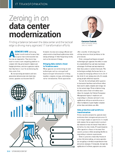 GCN Article: Zeroing in on Data Center Modernization