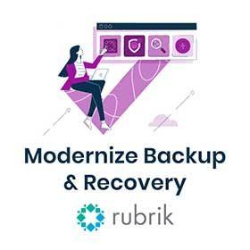 Rubrik Modernize Backup & Recovery sidebar