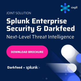Splunk Enterprise Security and Darkfeed