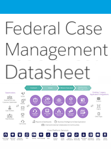Innovation in Government: Salesforce  Federal Case Management