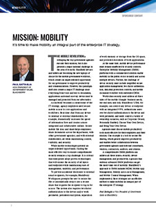 GCN Article: Mission Mobility