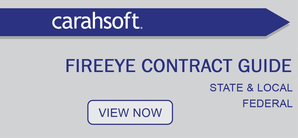 FireEye federal, state & local contracts banner