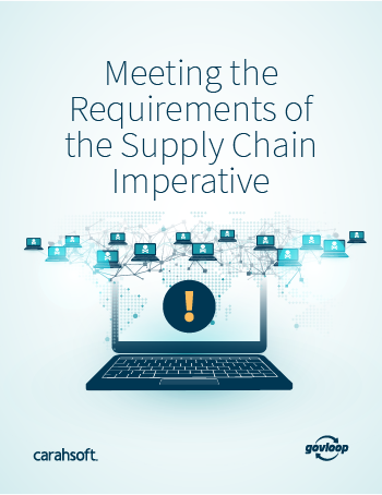 GovLoop Supply Chain Risk Management Guide cover