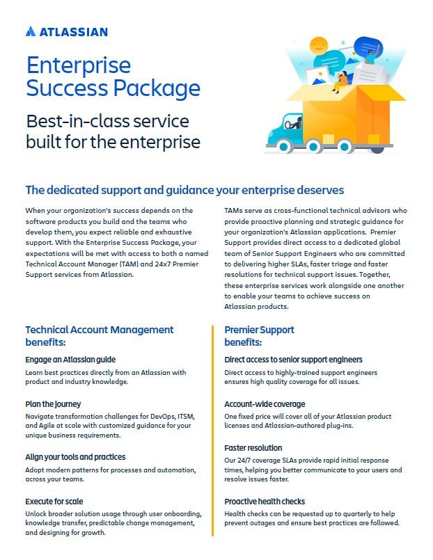 Atlassian Enterprise Success Package