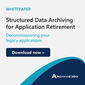 Structured Data Archiving for Application Retirement Whitepaper