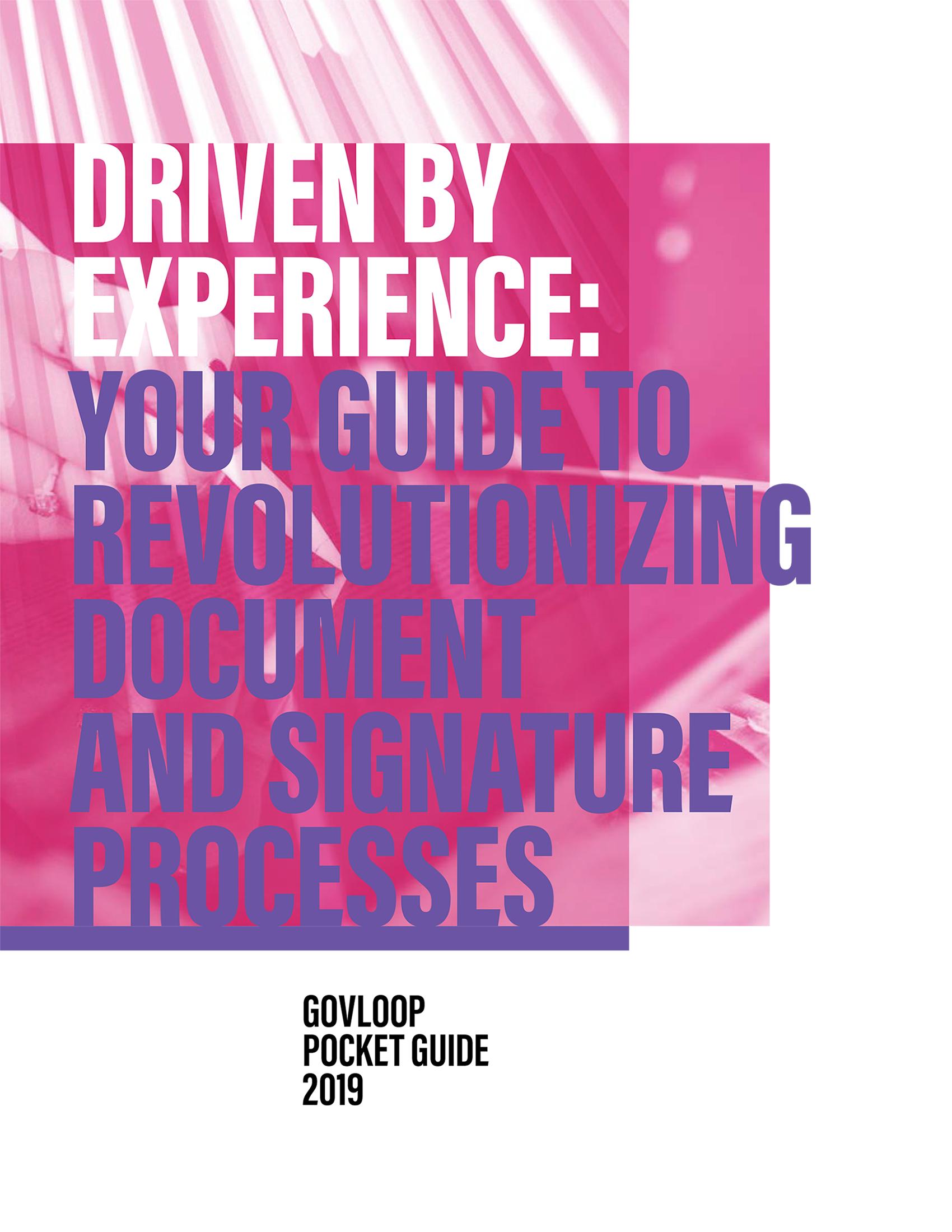 GovLoop Pocket Guide graphic