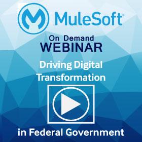 MuleSoft Digital Transformation Webinar sidebar