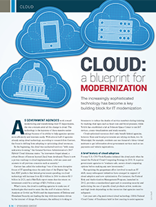 GCN Article: Cloud - A Blueprint for Modernization