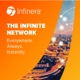 Infinera Infinite Network sidebar