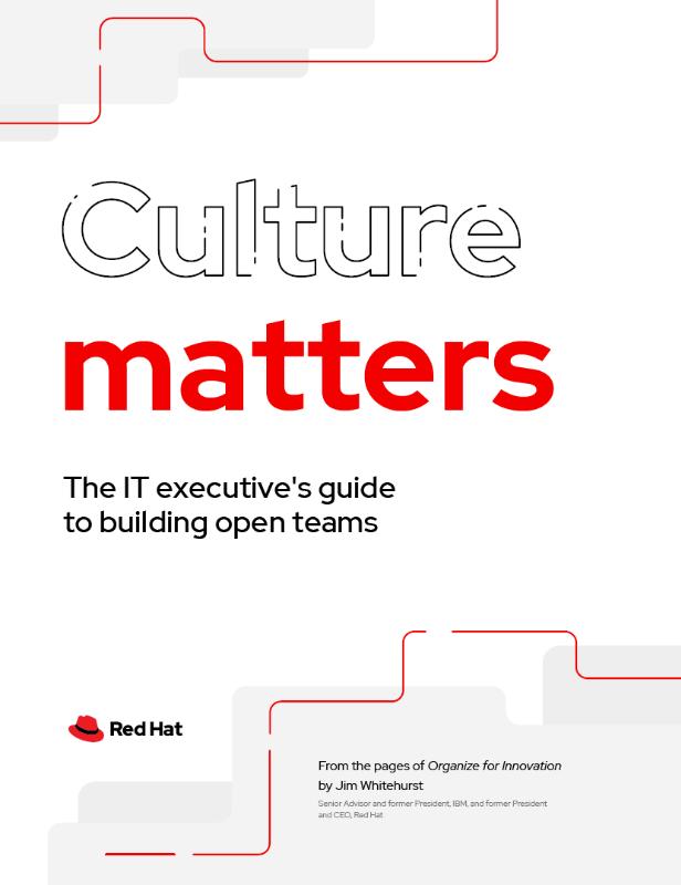 Red Hat Open Culture Philosophy eBook