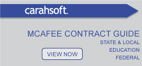 McAfee Government Contract guide