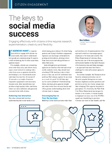 GCN Article: The Keys to Social Media Success