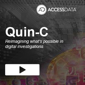 AccessData Quin-C sidebar
