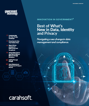 GovTech Data, Identity and Privacy report cover